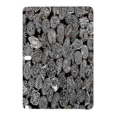 Black And White Art Pattern Historical Samsung Galaxy Tab Pro 12 2 Hardshell Case