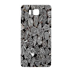 Black And White Art Pattern Historical Samsung Galaxy Alpha Hardshell Back Case