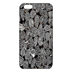 Black And White Art Pattern Historical Iphone 6 Plus/6s Plus Tpu Case