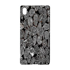Black And White Art Pattern Historical Sony Xperia Z3+