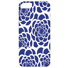 Blue And White Flower Background Apple Iphone 5 Classic Hardshell Case