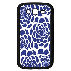 Blue And White Flower Background Samsung Galaxy Grand DUOS I9082 Case (Black)