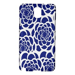 Blue And White Flower Background Samsung Galaxy Note 3 N9005 Hardshell Case