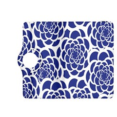 Blue And White Flower Background Kindle Fire HDX 8.9  Flip 360 Case