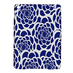 Blue And White Flower Background Ipad Air 2 Hardshell Cases