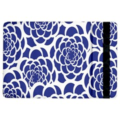 Blue And White Flower Background iPad Air 2 Flip