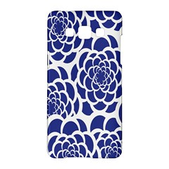 Blue And White Flower Background Samsung Galaxy A5 Hardshell Case