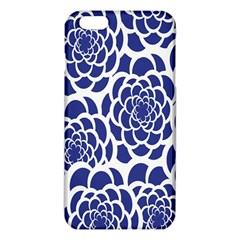 Blue And White Flower Background Iphone 6 Plus/6s Plus Tpu Case