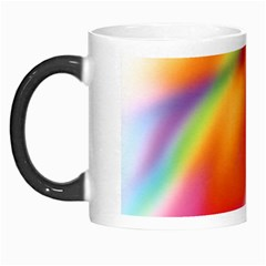 Blur Color Colorful Background Morph Mugs