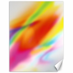 Blur Color Colorful Background Canvas 12  x 16