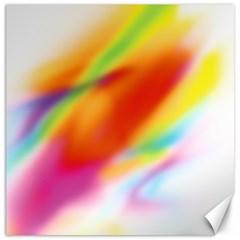 Blur Color Colorful Background Canvas 16  x 16