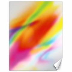 Blur Color Colorful Background Canvas 18  x 24
