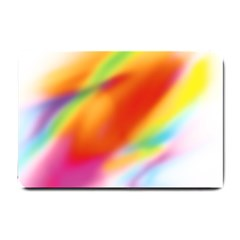 Blur Color Colorful Background Small Doormat
