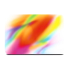 Blur Color Colorful Background Plate Mats