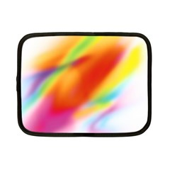 Blur Color Colorful Background Netbook Case (Small)