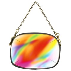 Blur Color Colorful Background Chain Purses (Two Sides)