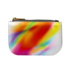 Blur Color Colorful Background Mini Coin Purses