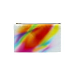 Blur Color Colorful Background Cosmetic Bag (Small)