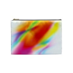 Blur Color Colorful Background Cosmetic Bag (Medium)