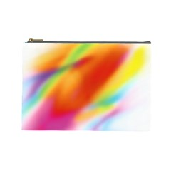 Blur Color Colorful Background Cosmetic Bag (Large)
