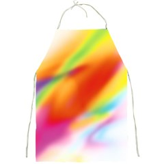 Blur Color Colorful Background Full Print Aprons