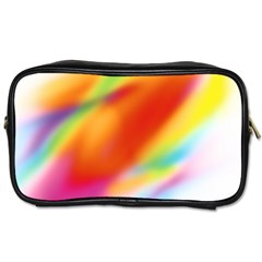 Blur Color Colorful Background Toiletries Bags 2-Side