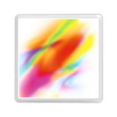 Blur Color Colorful Background Memory Card Reader (Square)