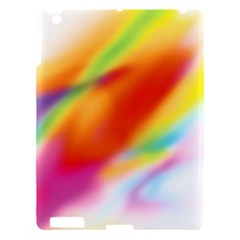 Blur Color Colorful Background Apple iPad 3/4 Hardshell Case