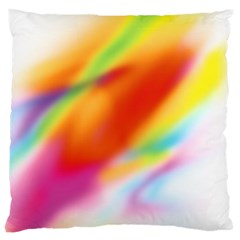 Blur Color Colorful Background Large Cushion Case (Two Sides)