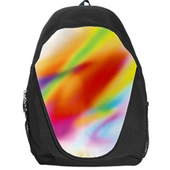 Blur Color Colorful Background Backpack Bag