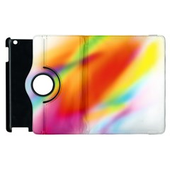 Blur Color Colorful Background Apple Ipad 3/4 Flip 360 Case