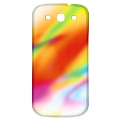 Blur Color Colorful Background Samsung Galaxy S3 S Iii Classic Hardshell Back Case