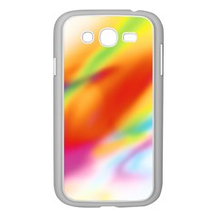 Blur Color Colorful Background Samsung Galaxy Grand DUOS I9082 Case (White)