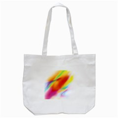 Blur Color Colorful Background Tote Bag (white)