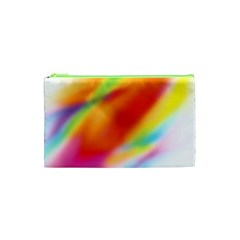 Blur Color Colorful Background Cosmetic Bag (XS)
