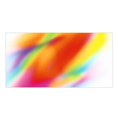 Blur Color Colorful Background Satin Shawl