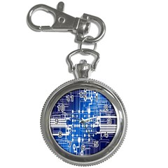 Board Circuits Trace Control Center Key Chain Watches