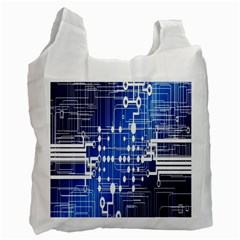 Board Circuits Trace Control Center Recycle Bag (Two Side)