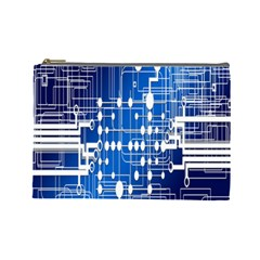 Board Circuits Trace Control Center Cosmetic Bag (Large)
