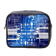 Board Circuits Trace Control Center Mini Toiletries Bag 2-Side