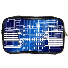 Board Circuits Trace Control Center Toiletries Bags 2-Side