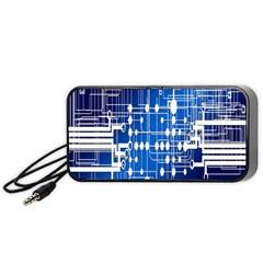 Board Circuits Trace Control Center Portable Speaker (Black)