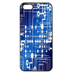 Board Circuits Trace Control Center Apple Iphone 5 Seamless Case (black)