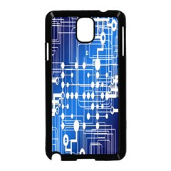 Board Circuits Trace Control Center Samsung Galaxy Note 3 Neo Hardshell Case (Black)