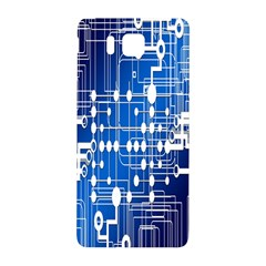 Board Circuits Trace Control Center Samsung Galaxy Alpha Hardshell Back Case