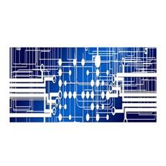 Board Circuits Trace Control Center Satin Wrap