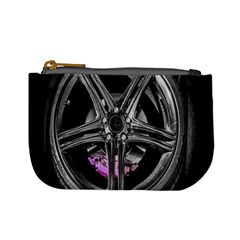 Bord Edge Wheel Tire Black Car Mini Coin Purses