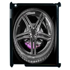 Bord Edge Wheel Tire Black Car Apple Ipad 2 Case (black)