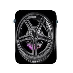 Bord Edge Wheel Tire Black Car Apple Ipad 2/3/4 Protective Soft Cases