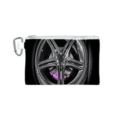 Bord Edge Wheel Tire Black Car Canvas Cosmetic Bag (S)